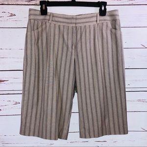 Gianni Bini Striped Dress Shorts